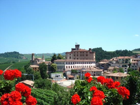 Our Last glimpse of Barolo from Brezza Terrace