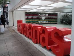Havaianas flagship at Oscar Freire, São Paulo