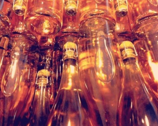 wine tasting in england west sussex bolney estate chapel down rose sparkling wine bottles