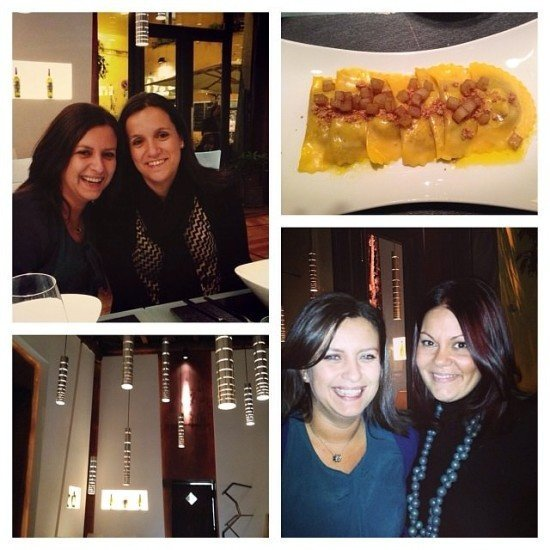I adored our dinner at Glass Hostaria with my sister Renata and my friend Maria.