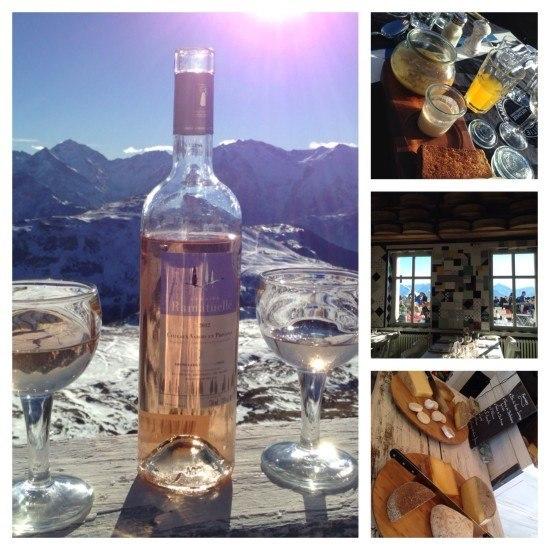 Lunch at La Fruitiere, Folie Douce's restaurant in Alpe d'Huez