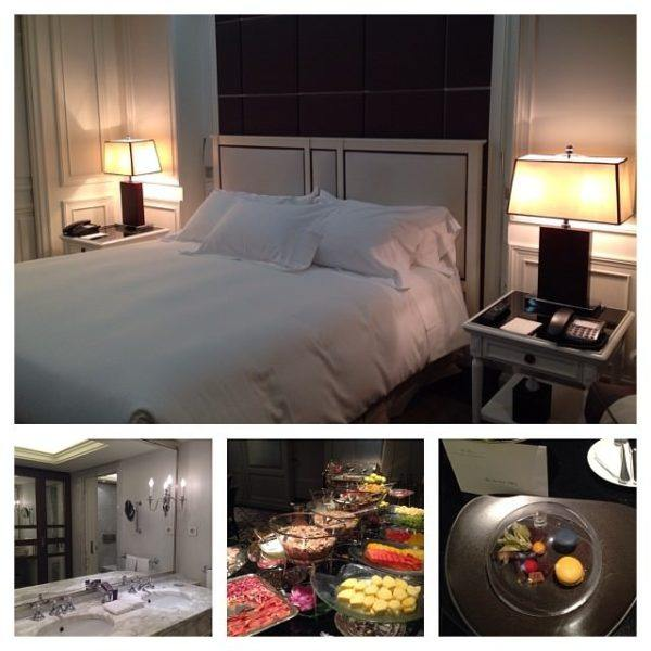 where to stay in Madrid Spain luxury hotel