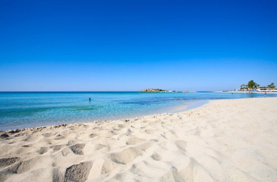 Yes, this is Cyprus - and I am so going to find this beach...