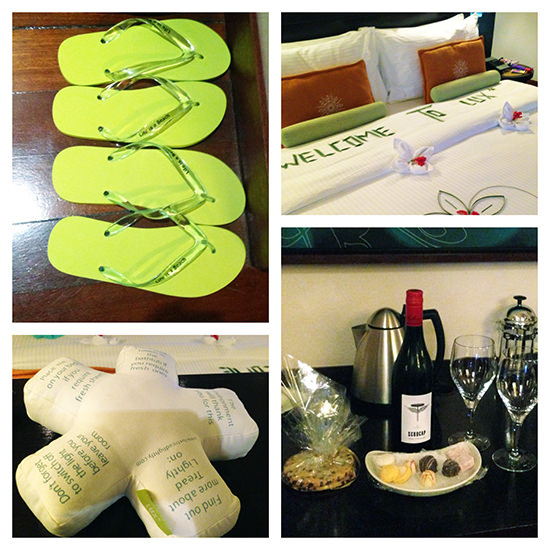 Small touches at Lux Maldives