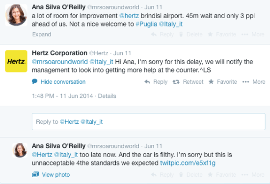 A conversation that ended very quickly. Why did they not respond? Saying sorry would be OK.