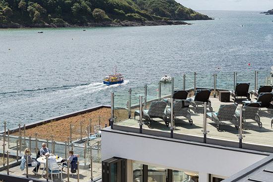 Salcombe Harbour Hotel, Devon, UK