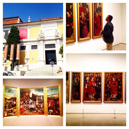 Diogo and the St Vicent Panels at the Museu Nacional de Arte Antiga