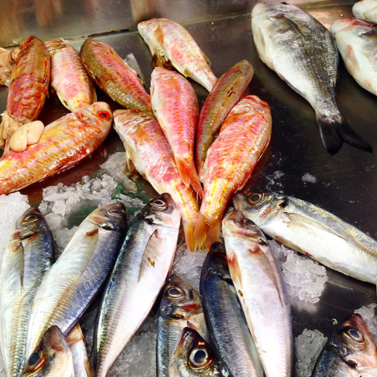 Red mullet - my favourite fish in the whole world.