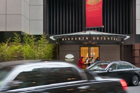 Arriving at the MO. Photo by Mandarin Oriental.