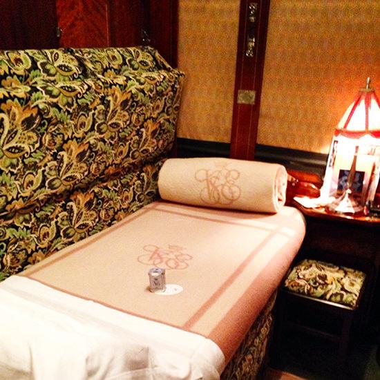 orient express train bedroom