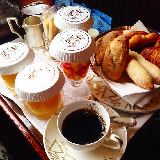 venice simplon orient express food on board breakfast