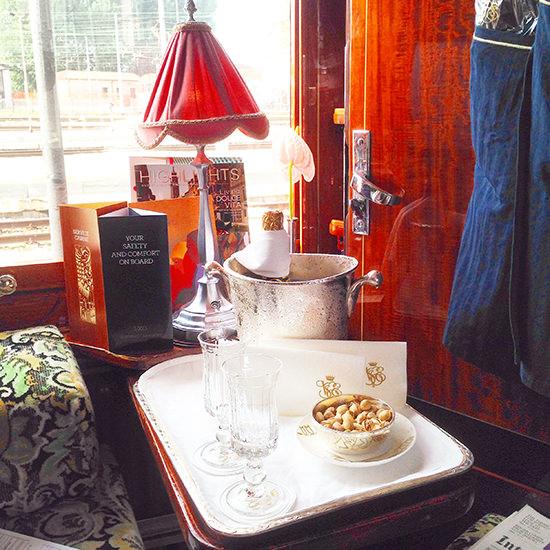 orient express train cabin suite