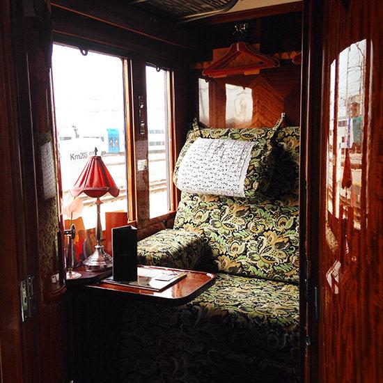 orient express train suite cabin