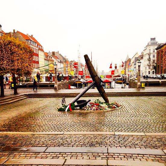 No sun in Nyhavn but still quite pretty