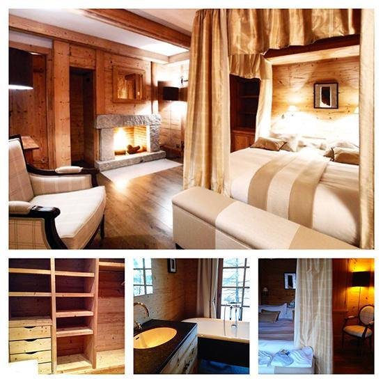 A stunning master bedroom with dressing room and a great bathroom.
