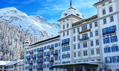 The wonderful Kempinski St Moritz