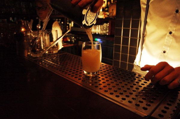 One of our best discoveries in town - Hemingway Bar. Please please please book before. Photo taken with Leica T.