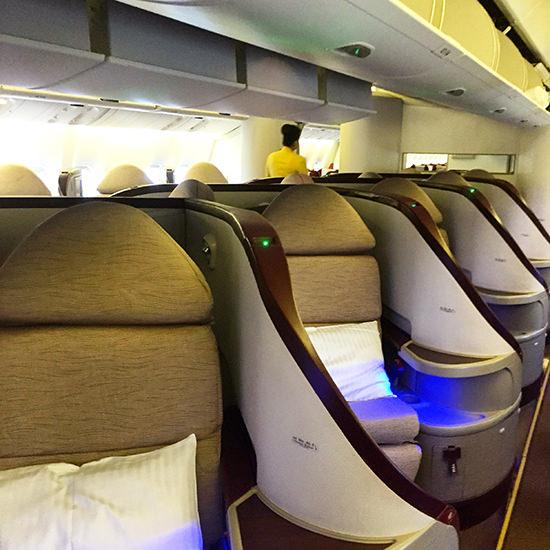 The Jet Airways Premiere Cabin