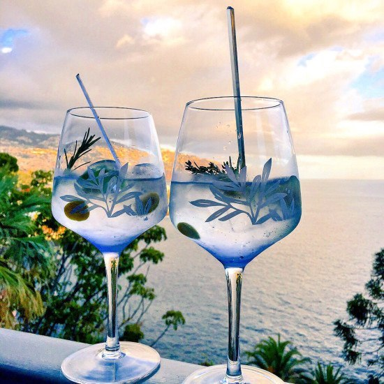 The perfect Gin & Tonic with a view.