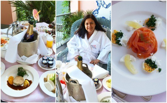 A special treat for Sovereign guests at the Belmond Reids Palace. Amen. Photos taken with Leica D-Lux camera.