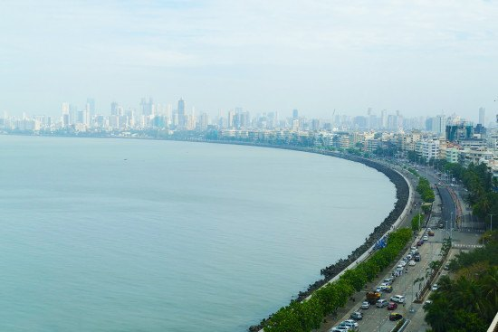 A room with a view, from the Oberoi Mumbai. Photo taken by Leica V-Lux.