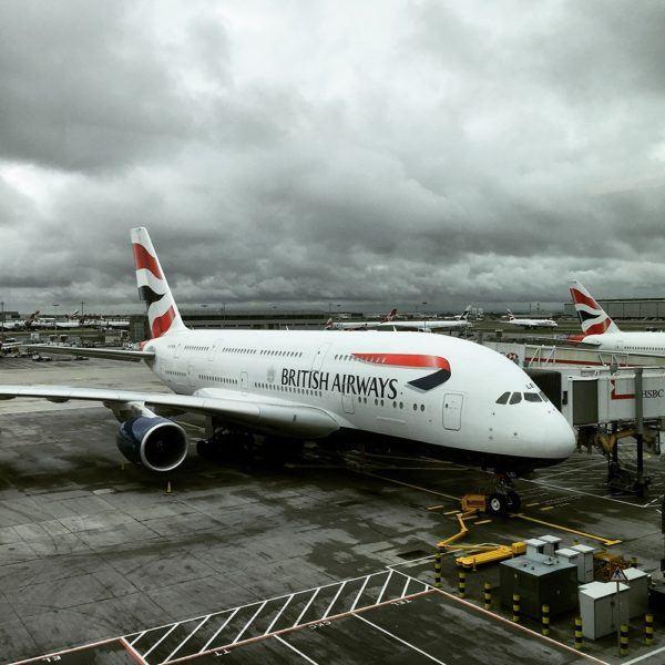 British Airways Business Class BA Club World Review A380