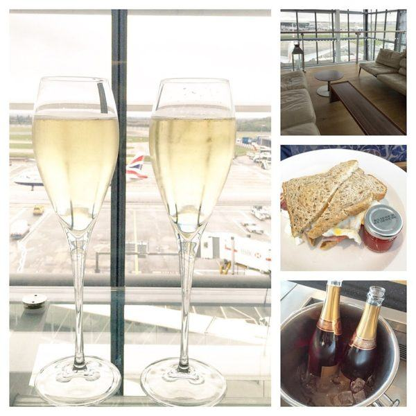 British Airways Business Class BA Club World Review A380 Heathrow First Wing