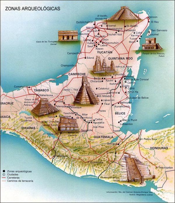 luxury holiday in Campeche and Yucatan in Mexico