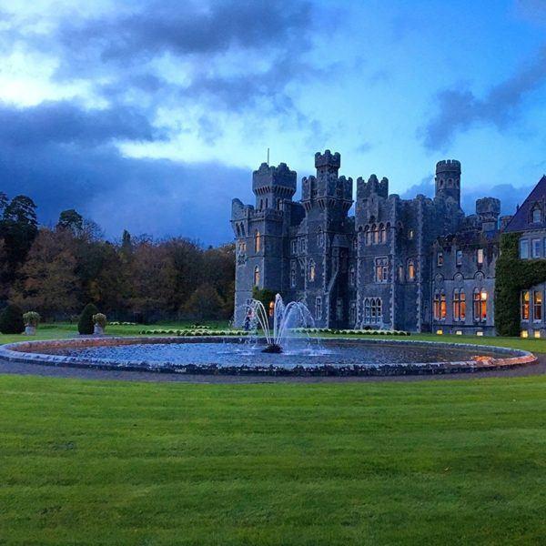 ashford castle luxury hotel ireland grounds 2