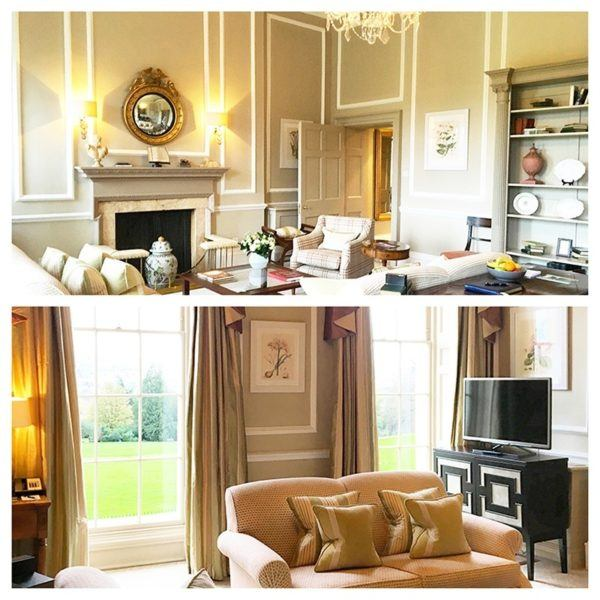 luxury weekend in bath england royal crescent hotel relais chateau sir percy blakeney suite living room