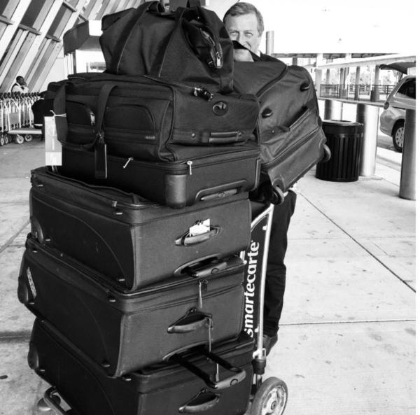 mrs o around the world tumi suitcases shopping