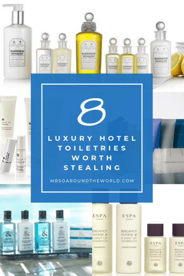 Best Luxury Hotel Toiletries