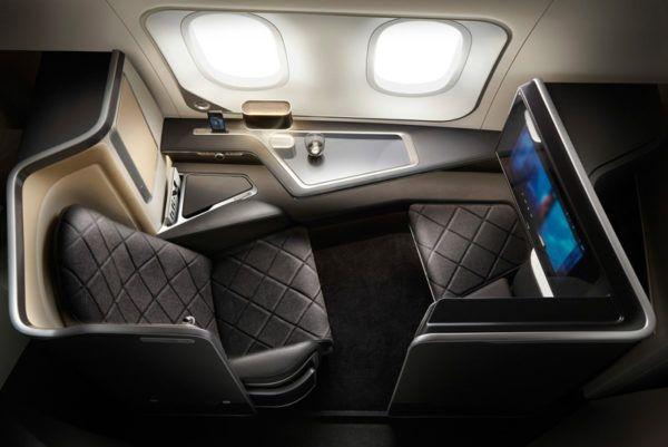 british airways first class seat b 787 dreamliner