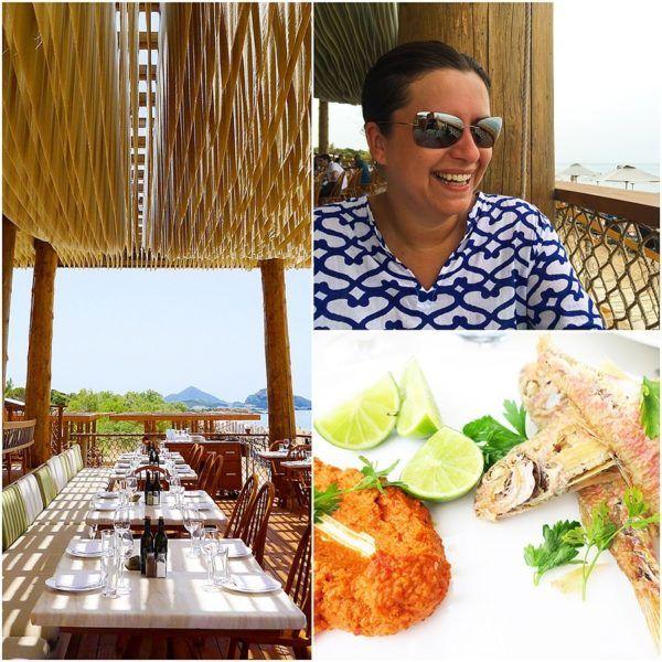 The Romanos Luxury Collection Costa Navarino Sovereign Luxury Holidays Barbouni Lunch restaurant