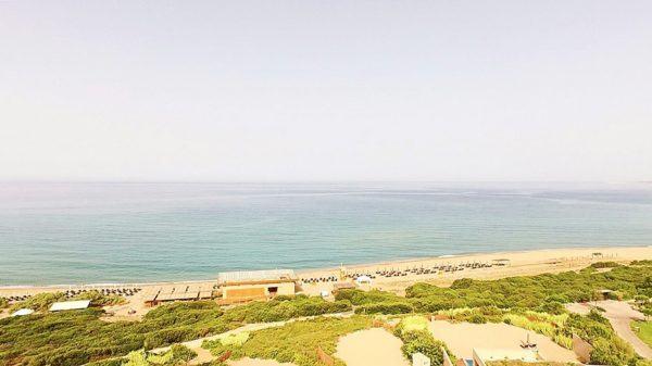 The Romanos Luxury Collection Costa Navarino Sovereign Luxury Holidays beach DJI drone