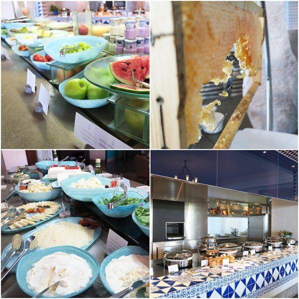 The Romanos Luxury Collection Costa Navarino Sovereign Luxury Holidays breakfast
