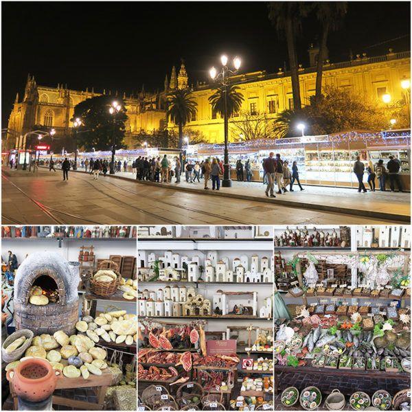 weekend in Sevilla nativity scenes belen christmas seville city break