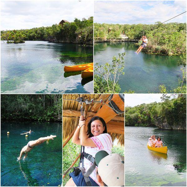 parque tankat private cenote near tulum Mexico