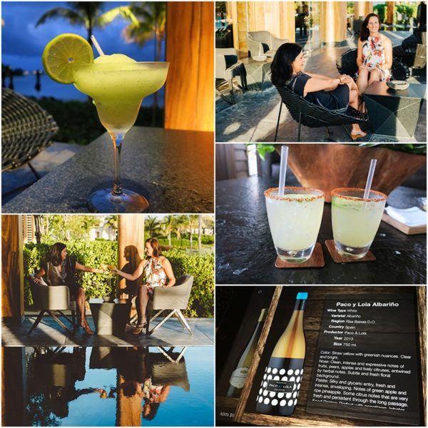 cocktails margaritas at Nizuc resort best resort in Mexico