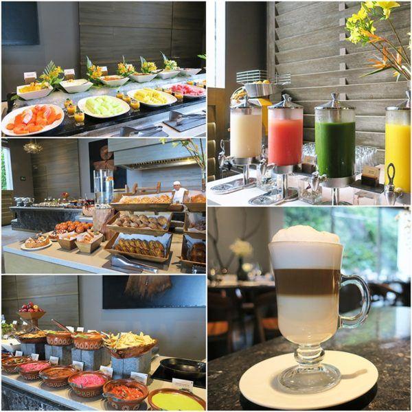 breakfast at Nizuc resort and spa cancun Mexico