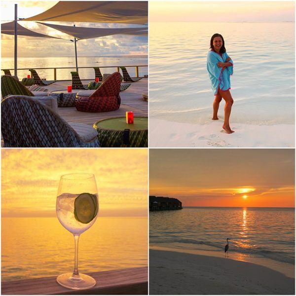 Maldives holidays sunset