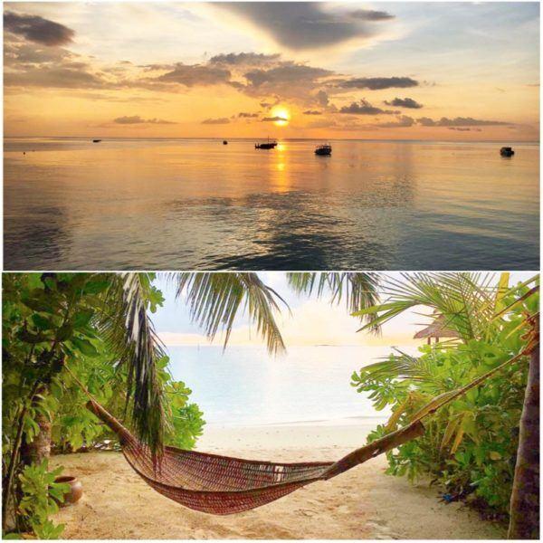 baros maldives hotel slh sovereign luxury holidays beach sunset