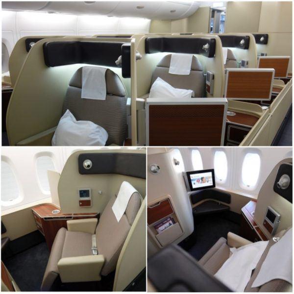 qantas flights first class