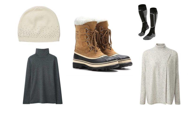 top-5-luxury-ski-apres-ski-clothes-falke-cashmere-sorel-boots-uniqlo-heat-tech-layer-cashmere-beanie-men-women