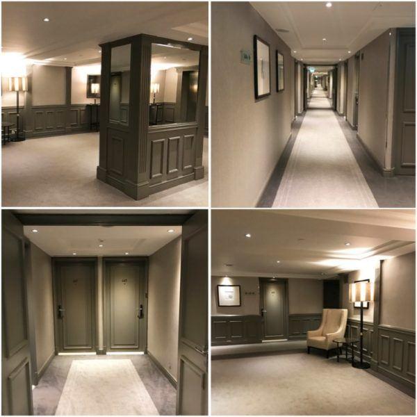 hyatt regency the churchill london luxury hotel corridor
