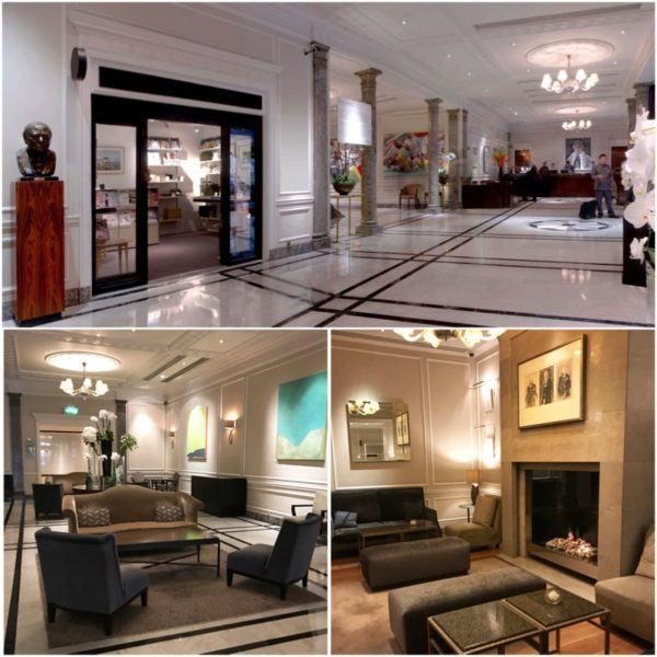hyatt regency the churchill london luxury hotel reception and lounge