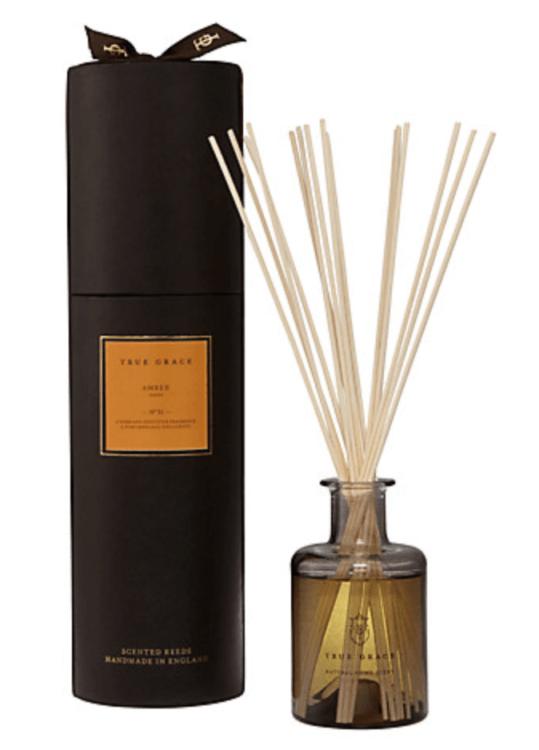 true grace reed diffuser amber