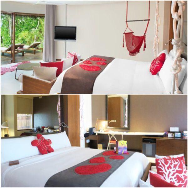 w maldives starwood spg luxury hotel beach villa bedroom 1