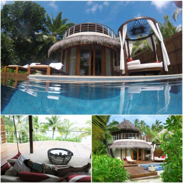 w maldives starwood spg luxury hotel beach villa outdoor
