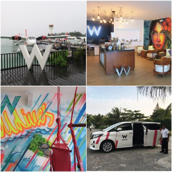 w maldives starwood spg luxury hotel male airport lounge